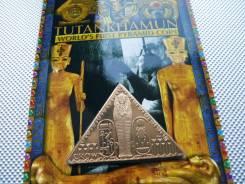 *238. Остров Мэн 1 крона 2008. (Тутанхамон, саркофаг) Буклет.