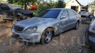 Mercedes-Benz S-Class. Продам птс с железом w220 2000г 4.3 279л. с. серебро