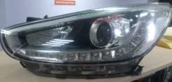 Фара. Hyundai Solaris