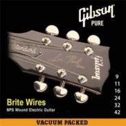 Gibson SEG-700UL Brite Wires NPS Ultra Light 9-42 струны электрогитары. Под заказ