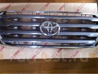 Решетка радиатора. Toyota Land Cruiser, UZJ200W, URJ202W, J200, UZJ200, VDJ200 Двигатели: 2UZFE, 1URFE, 3URFE, 1VDFTV