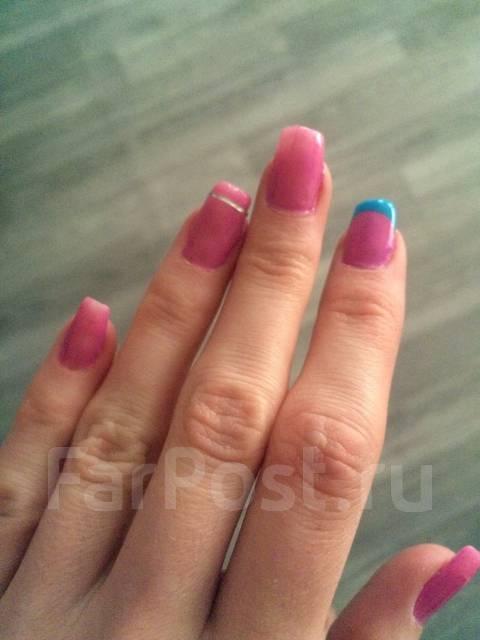 Наращивание ногтей на дому владивосток