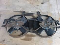Вентилятор радиатора кондиционера. Mitsubishi Delica Space Gear, PD5V, PA3V, PB5V, PA5V Mitsubishi Delica Mitsubishi Delica Cargo
