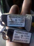 Датчик airbag. Audi S6, 4B2, 4B4, 4B5, 4B6 Audi A6, 4B2, 4B4, 4B5, 4B6 Двигатели: ACK, AEB, AFB, AFN, AFY, AGA, AGB, AGE, AHA, AJG, AJK, AJL, AJM, AJP...