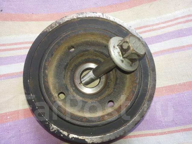 Шкив коленвала. Subaru Impreza Двигатель EL154