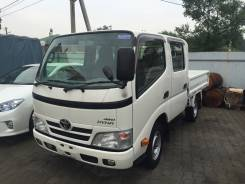 Toyota Dyna. 2 каб 4WD, 3 000 куб. см., 1 500 кг.