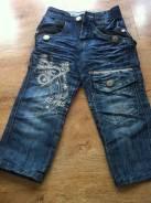 Комбинезоны джинсовые. Рост: 80-86, 86-98, 98-104 см