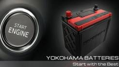 Yokohama Batteries. 45 А.ч., левое крепление, производство Япония