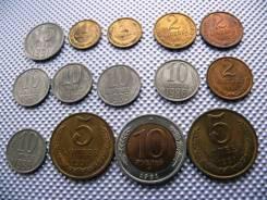 *136. Лот монет СССР из мешка (список) UNC