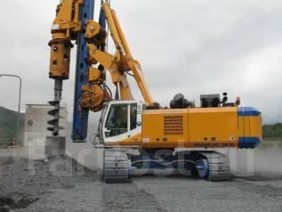 Услуги буровой Bauer BG 28 - до д. 1500 мм, камаз БКМ 2012. Сваебой
