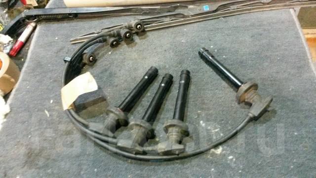 Высоковольтные провода. Nissan: Cube, Stanza, March Box, Micra, March Двигатели: CG13DE, CGA3DE