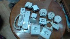 Розетки и выключатели.