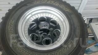 Грязевка Dunlop MT2 265/75/16 на ковке Ride Custom Wels -25/8/16. 8.0x16 6x139.70 ET-25
