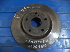 Диск тормозной. Toyota Camry, ACV40, AVV50, ACV45 Двигатели: 2AZFE, 2ARFXE