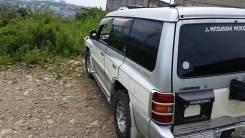 Дверь боковая. Mitsubishi Pajero, V45W