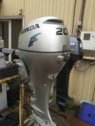 Honda. 20,00л.с., 4х тактный, бензин, нога L (508 мм), Год: 2009 год