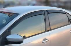 """Дефлекторы окон VW Polo V Sd 2010 деф.окон """"CT"""""""