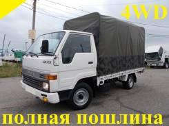 Toyota Hiace. 4WD, борт+съемный тент, 2 400 куб. см., 1 500 кг.