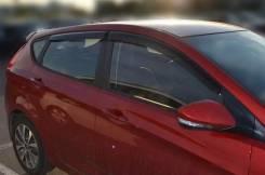 "Дефлекторы окон Hyundai Solaris Hb 2011-2014; 2014 деф.окон ""CT"""