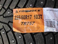 Triangle Group TR757. Зимние, шипованные, 2014 год, без износа, 4 шт