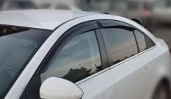 """Дефлекторы окон Chevrolet Cruze Sd 2009-2012; 2012 деф.окон """"CT"""""""
