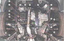 Ходовая часть. Mitsubishi Lancer