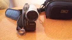 Sony DCR-DVD106E. с объективом