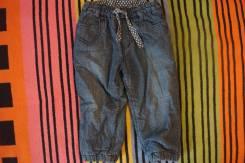 Полукомбинезоны джинсовые. Рост: 68-74 см