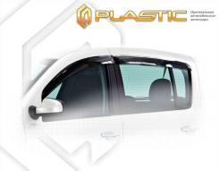 Ветровики дверей Classic полупрозрачный Renault Sandero 2010