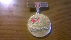 Знак Донор СССР.