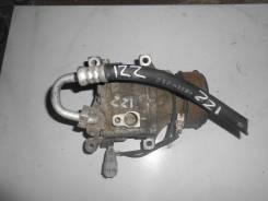 Компрессор кондиционера. Toyota Corolla Fielder, ZZE122 Двигатель 1ZZFE