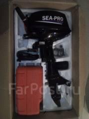 Sea-Pro. 9,90л.с., 2-тактный, бензиновый, нога S (381 мм), Год: 2016 год