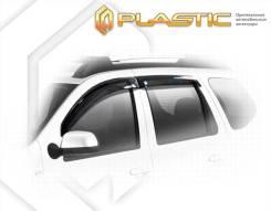 Ветровики дверей Classic полупрозрачный Nissan Terrano 2013–н.в.