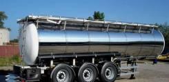 Foxtank ППЦ-28. Новая Пищевая полуприцеп цистерна Fox Tank 28м3 из нержавейки, 28,00куб. м.