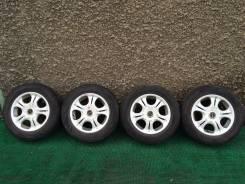 Комплект колес Bridgestone 5x100 185/65/14. 6.0x14 5x100.00, 5x114.30 ET43