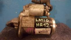 Стартер. Nissan Micra Nissan Tiida Latio Двигатель HR12DR