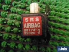 Датчик airbag. Toyota Vista Ardeo, SV50, AZV55G, SV55, SV55G, SV50G, ZZV50, AZV50, AZV55, AZV50G Toyota Vista, AZV50, AZV55, SV50, SV55, ZZV50, AZV50G...