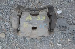 Суппорт тормозной. Nissan Cefiro, A33