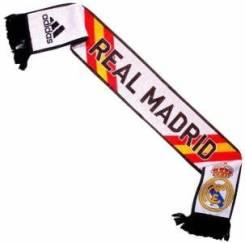 Новый Фирменный Немецкий Шарф Adidas M60184 Real Madrid. 55, 56, 57, 58, 59