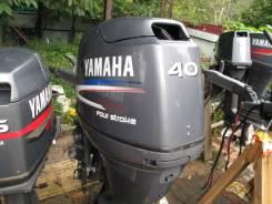 Yamaha. 50,00л.с., 4х тактный, бензин, нога X (635 мм), Год: 2004 год