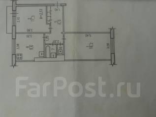 2-комнатная, Калинка Молодежная, д.6. Пригород, агентство, 48 кв.м.