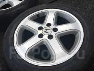 Колеса Honda с резиной 215/50R17 лето. 6.5x17 5x114.30 ET55