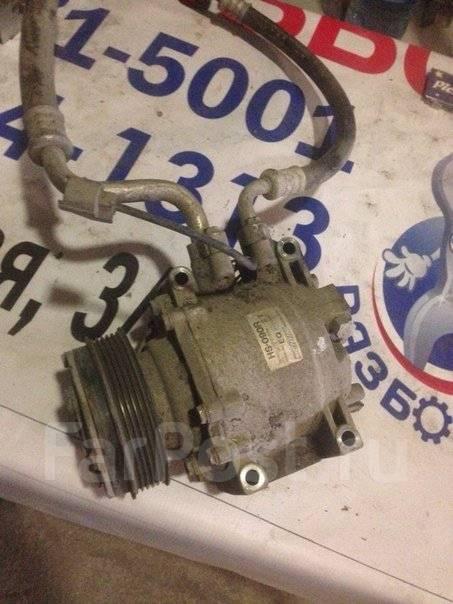 Компрессор кондиционера. Honda Fit, GD1 Двигатель L13A