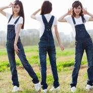 Комбинезоны джинсовые. 46
