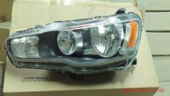 Фара. Mitsubishi Lancer X