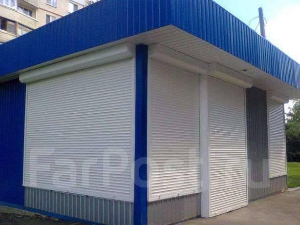Рольставни, шлагбаумы, секционные ворота ремонт и установка