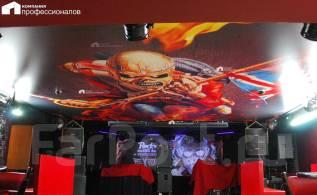 Натяжной потолок с 6-ти метровым зомби в России! без швов. Тип объекта эксклюзив, срок выполнения неделя