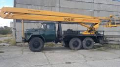 ЗИЛ АГП-22. Автовышка АГП - 22 Зил-131 (вездеход) Турбо-дизель, 6 000 куб. см., 22 м.