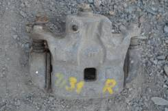 Суппорт тормозной. Nissan Teana, TNJ31