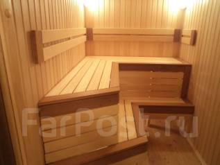 Мебель для бани! Полки и скамьи из липы!
